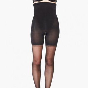 NWT SPANX Sheers High Waisted Control Pantyhose BL